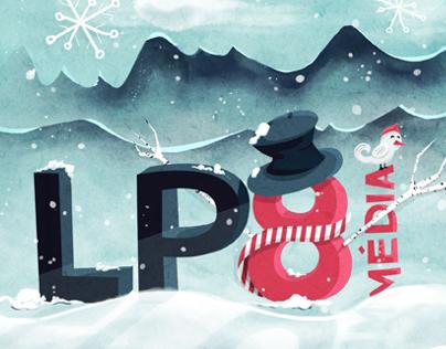 LP8. Carte de Noël