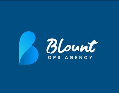 Blount Ops Agency Logo