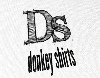 Donkey Shirts Logo & Shirt Design