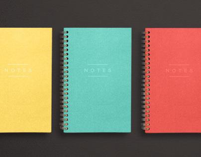 Franklin Mill Felt Series Notebooks