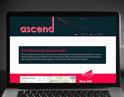 Ascend 2014 Website