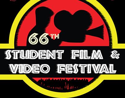 66th Student Film & Video Festival Marketing & Logo