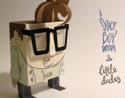 A Space Boy Dream & Little Dudes