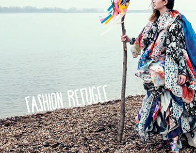 Fashion Refugee for Poppy Milk Magazine