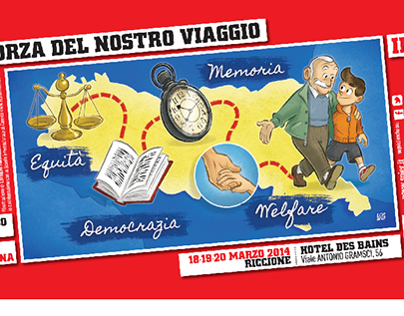 SPI/CGIL Congress Illustration