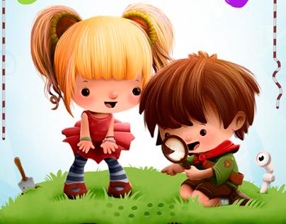 Yahooty who? Storybook Illustration