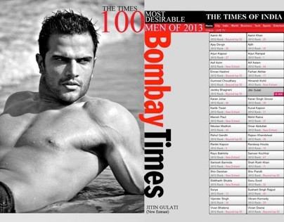 Times of India 100 Most Desirable Men 2013