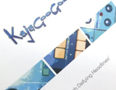 Kajagoogoo - 4 track EP CD sleeve design