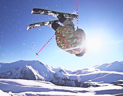 Skier Iva Tsiklauri Conquers three Caucasus Peaks