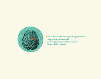 Charles Darwin - Editorial Design