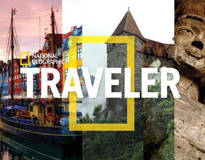 National Geographic Traveler Magazine Redesign