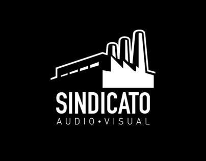 Sindicato Audiovisual: Logo Redesign & Branding