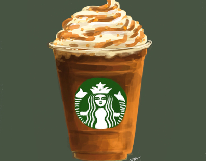 Frappuccino Projects Photos Videos Logos Illustrations And Branding On Behance