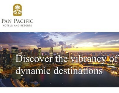 Pan Pacific Hotel Group Mobile site