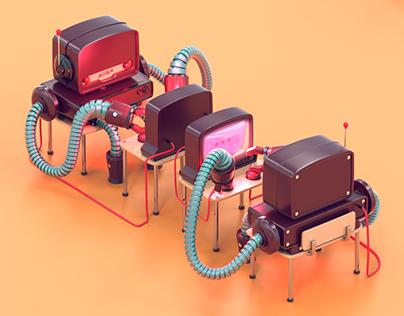 TANGOWHISKEY ROBOTS EXHEBITION