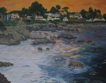 Monterey Sun Set