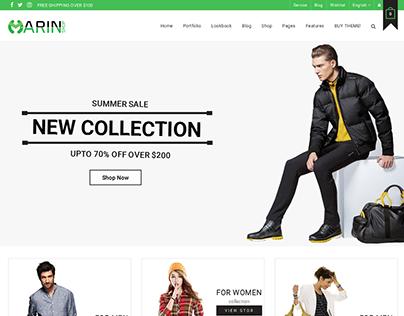WooCommerce Multipurpose WordPress Theme - Marin
