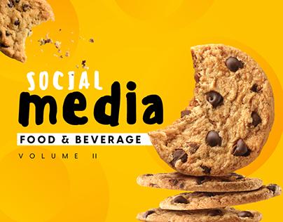 SOCIAL MEDIA | FOOD & BEVERAGE (VOL. II)