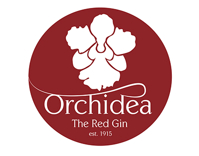 Orchidea, The Red Gin (Singapore Sling)