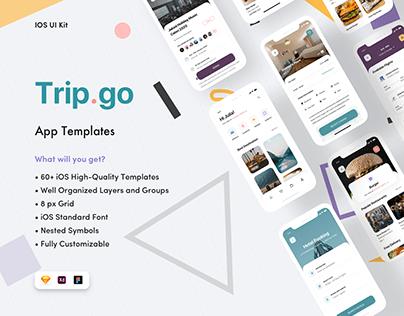 Trip Go Travel App UI Kit