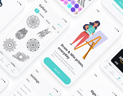 Paint by Number — Mobile App