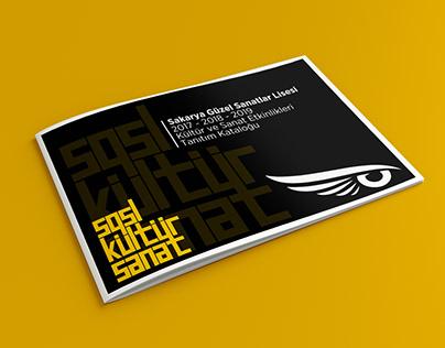 SGSL Kültür Sanat Logo & Katalog Çalışması
