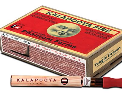 Kalapooya Fire Cannabis Vape Pen Packaging Design