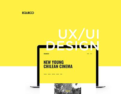 EQUECO · WEBSITE · UX / UI