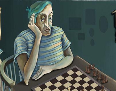 Satranç Oynayanlar / Chess Players