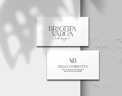 Brigitta Varga   Logo design