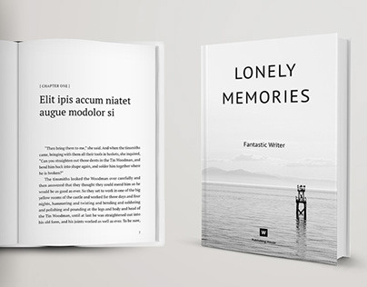 Novel and Poetry Book Template + Cover