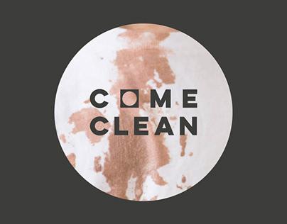 COME CLEAN - Laundrette Branding