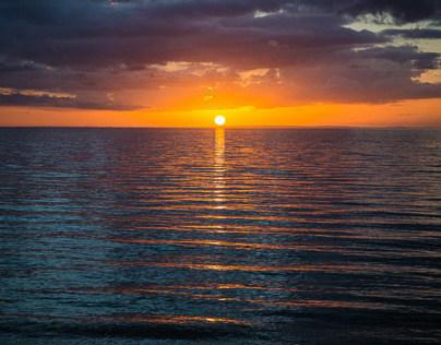 Sunset - Safety Beach