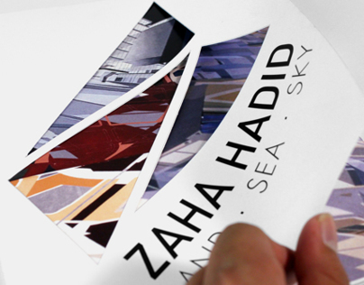 Zaha Hadid - Land.Sea.Sky