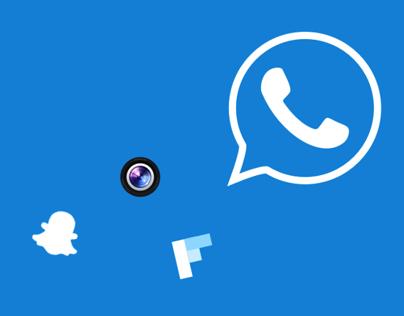 Facebook M&A Icons