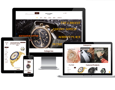 Watches Shop - Joomla eCommerce theme