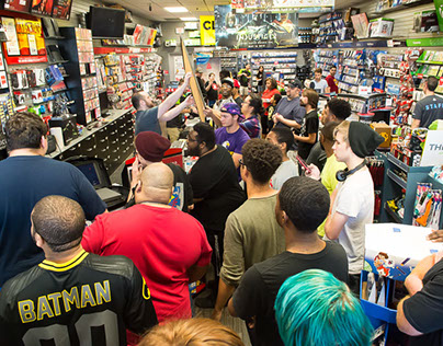 Game Stop New Release of InJustice 2 in Columbus, Ohio