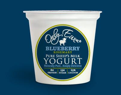 Only Ewe: Yogurt Packaging, Web, Signage