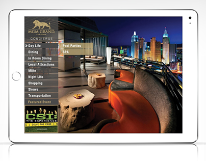 MGM Grand Las Vegas - Digital Concierge