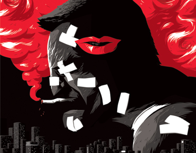 Sin City Poster Triptych