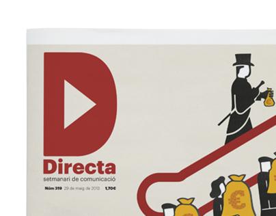 """La Directa"" covers"