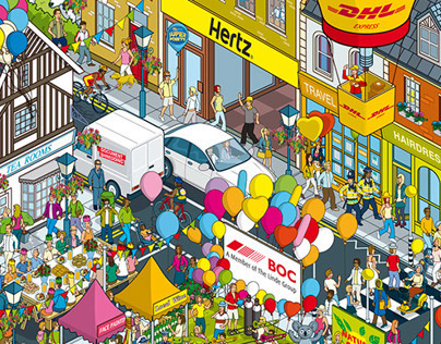 Nectar Business Superpoints Balloon Competition