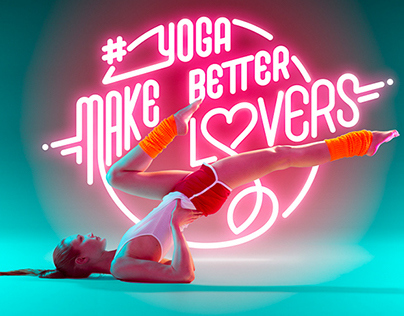 YOGA MAKES BETTER LOVERS by BJÖRN EWERS