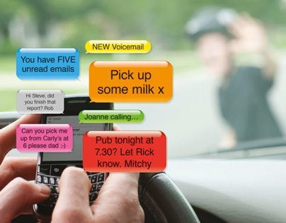 Drive Safe :: Distraction Campaign