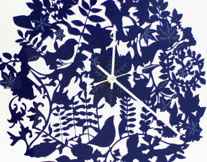 July Design Call: Lasercut Wall Clocks