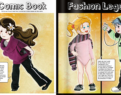 Comic Book Fashion Legends