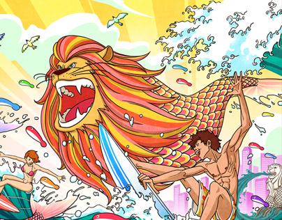 The Kallang Wave