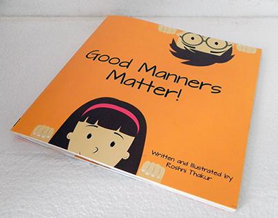 Children's Book - Good Manners Matter!