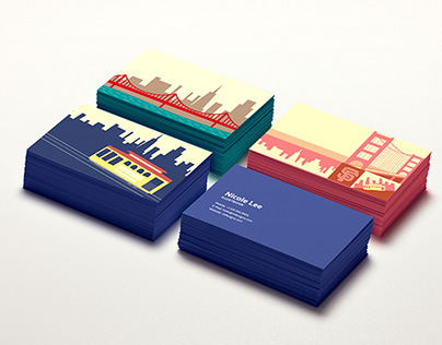 Illustrations for Business Card