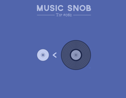 "NOT ""The New Vinyl"" — Music Snob Tip #082"